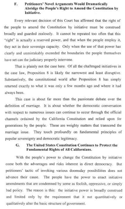 Brief in Defense of Proposition 8